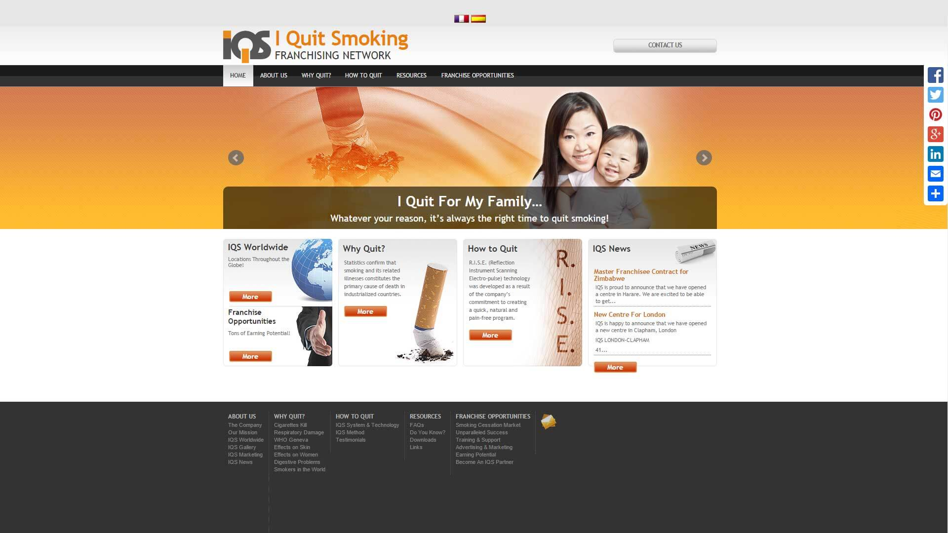 IQS Stop Smoking Franchise